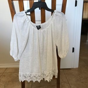 Sweaters - White Blouse